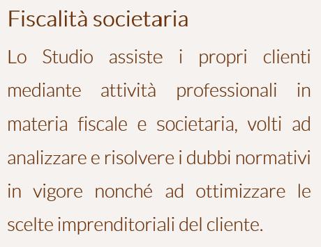 Fiscalità societaria - ITA